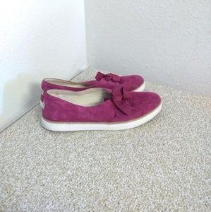 Ugg  Carilyn Pink Suede Sneakers